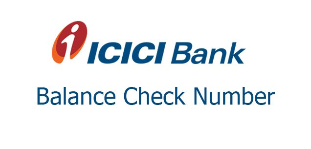 ICICI bank balance check number