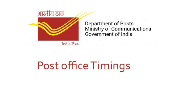 post office timings