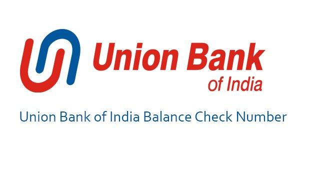 union bank balance check number