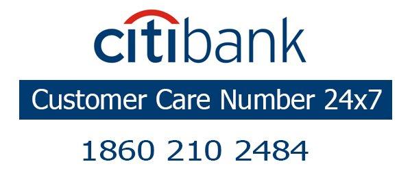 Citi bank customer care number
