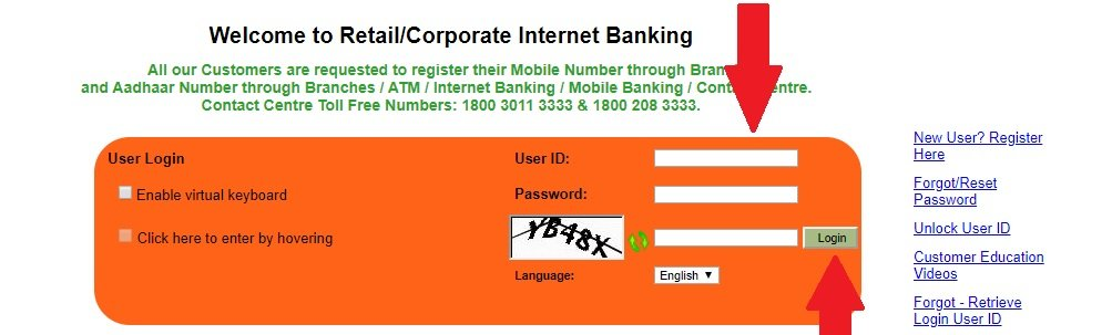 syndicate bank net banking login -