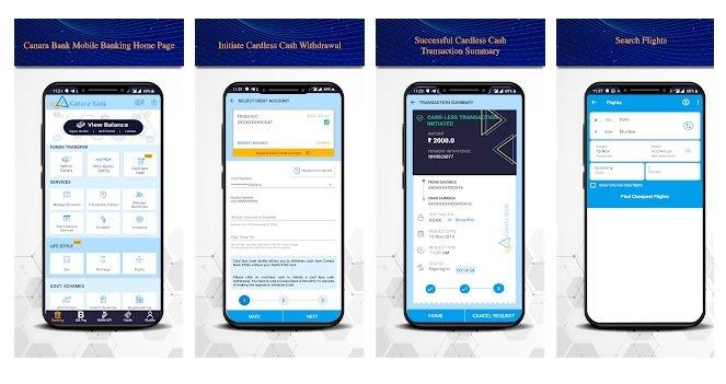 canara bank mobile banking app