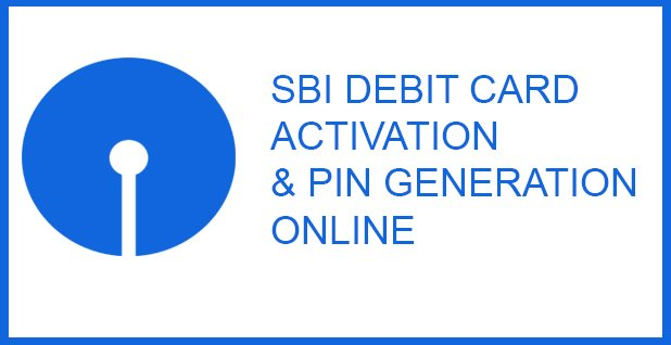sbi debit card activation