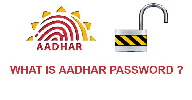 aadhar card password