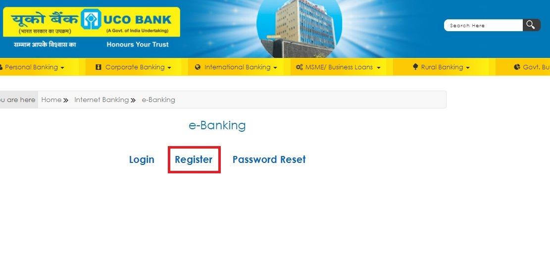 Uco bank netbanking
