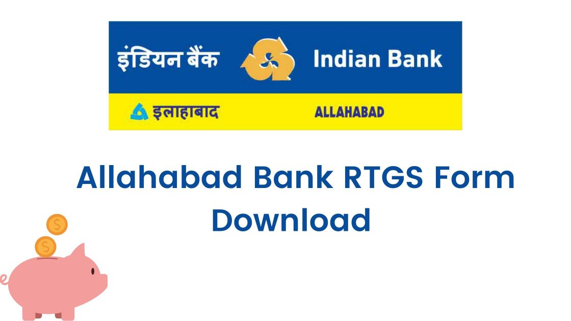allahabad bank rtgs form