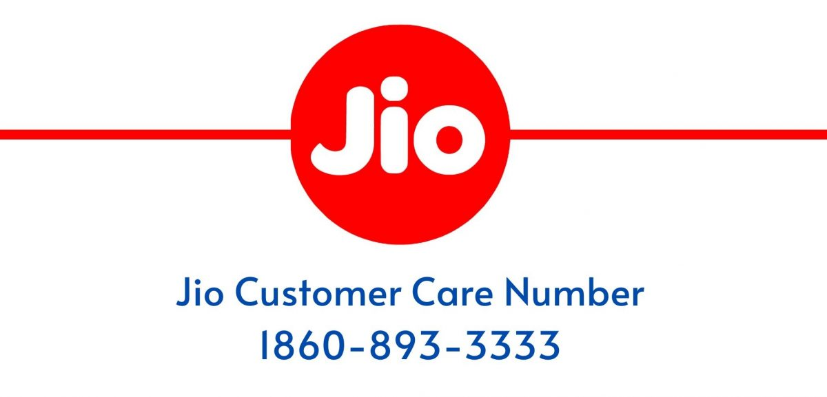 Jio Customer care Number
