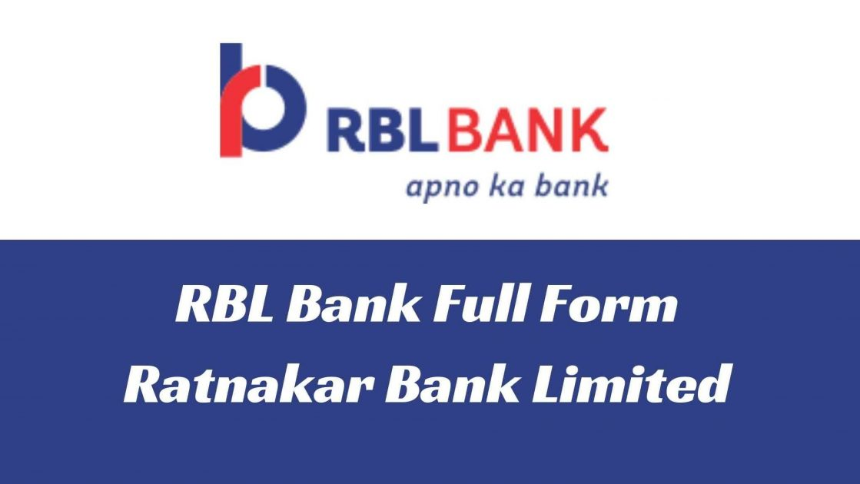 RBL Bank Full Form