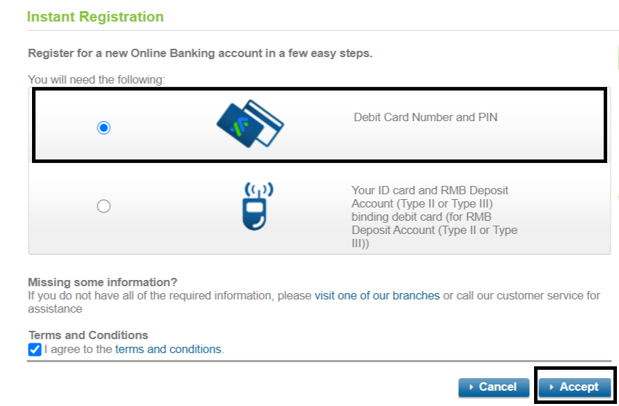 Standard chartered Internet banking